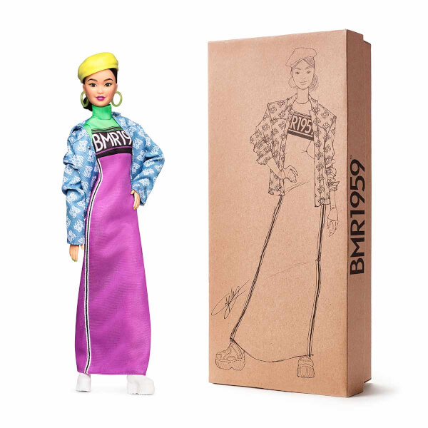 Barbie BMR1959 Koleksiyon Barbie Bebeği Kot Ceketli Şapkalı GHT95