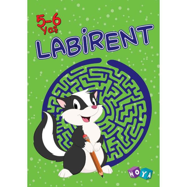 Labirent 5-6 Yaş Etkinlik Kitabı