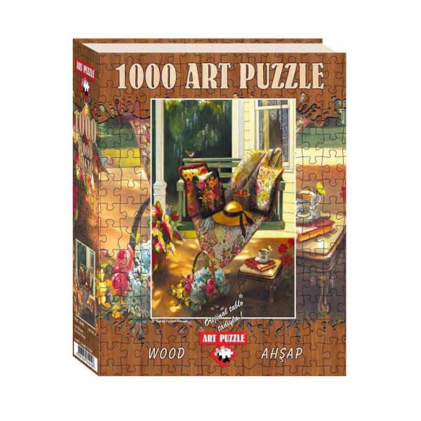 1000 Parça Ahşap Puzzle : Yaz Gölgesi