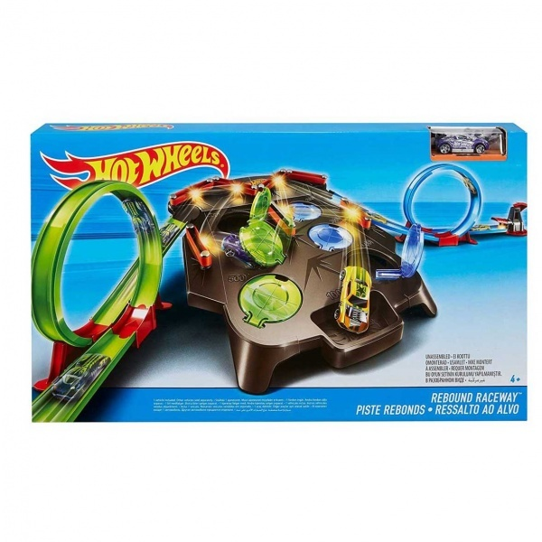 Hot Wheels Dev Çember Yarış Seti FDF27