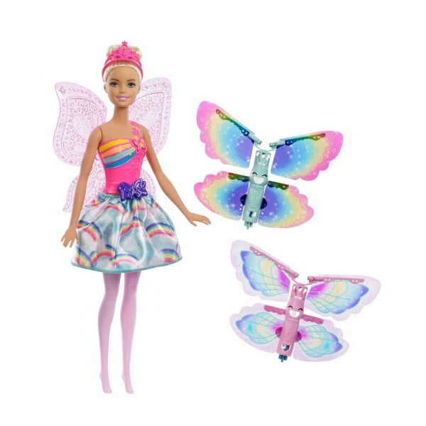 Barbie Dreamtopia Kanatlı Peri Barbie FRB08