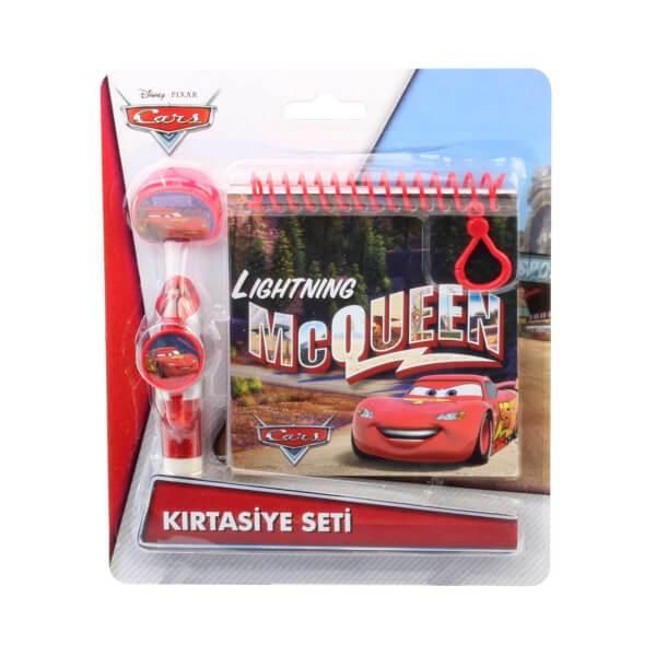 Cars Şimşek McQueen Kırtasiye Seti