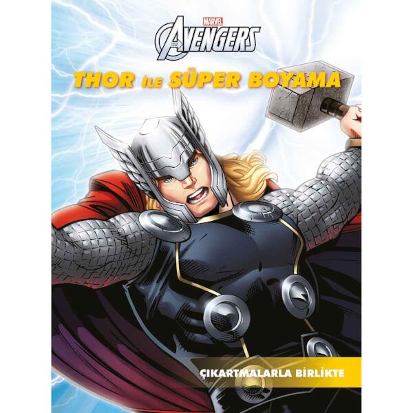 Marvel Avengers: Thor İle Süper Boyama