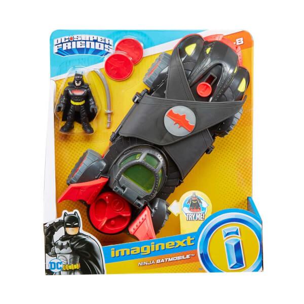 Imaginext DC Super Friends Ninja Batmobile FTG92