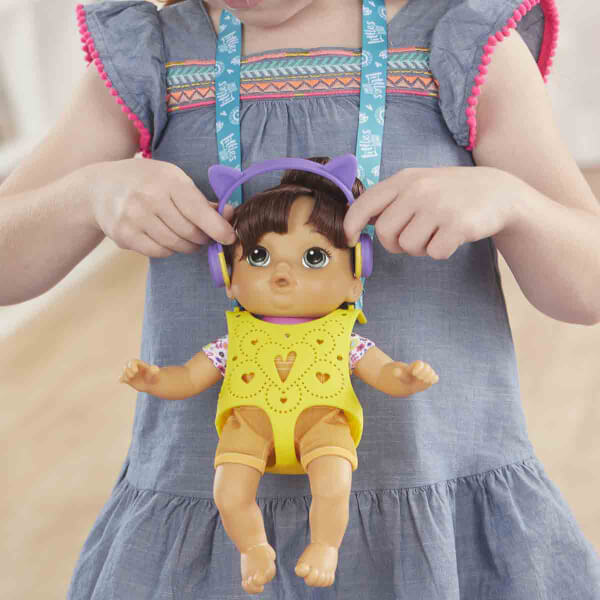 Baby Alive Minik Bebeğim ve Bebek Kangurusu E6646