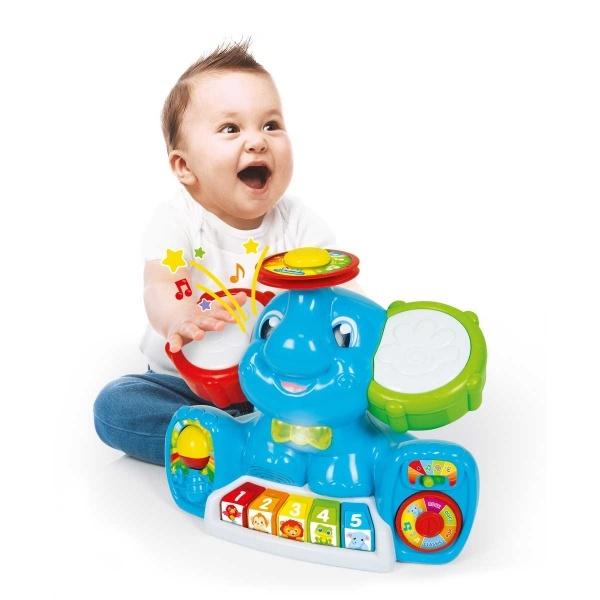 Baby Clementoni Müzisyen Fil