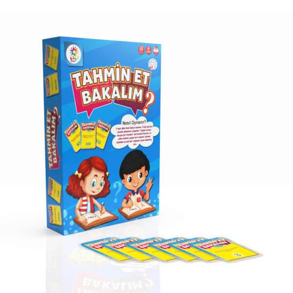 Tahmin Et Bakalım Eğitici Eğlenceli Oyun Kartları 32 Parça