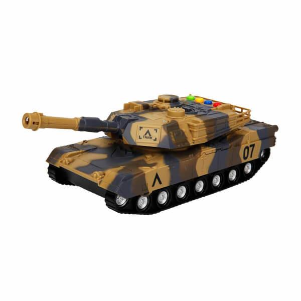 Sesli ve Işıklı Askeri Tank 27 cm.