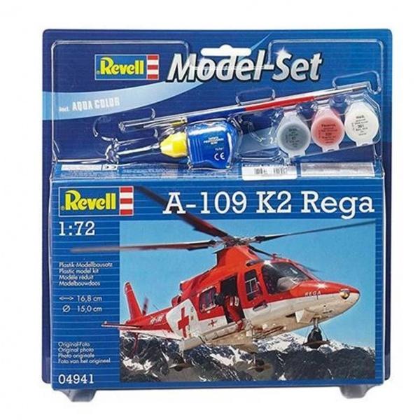 Revell 1:72 A-109 K2 Model Set Helikopter