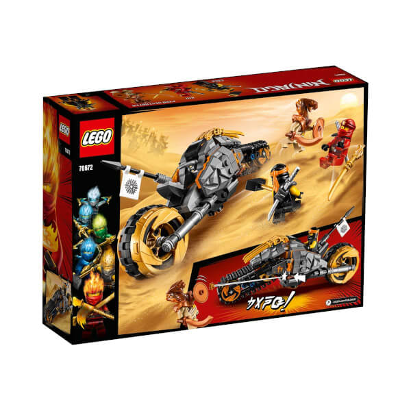 LEGO Ninjago Cole'un Arazi Motosikleti 70672