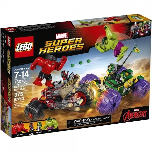 LEGO Super Heroes Marvel Hulk, Red Hulk'a karşı 76078