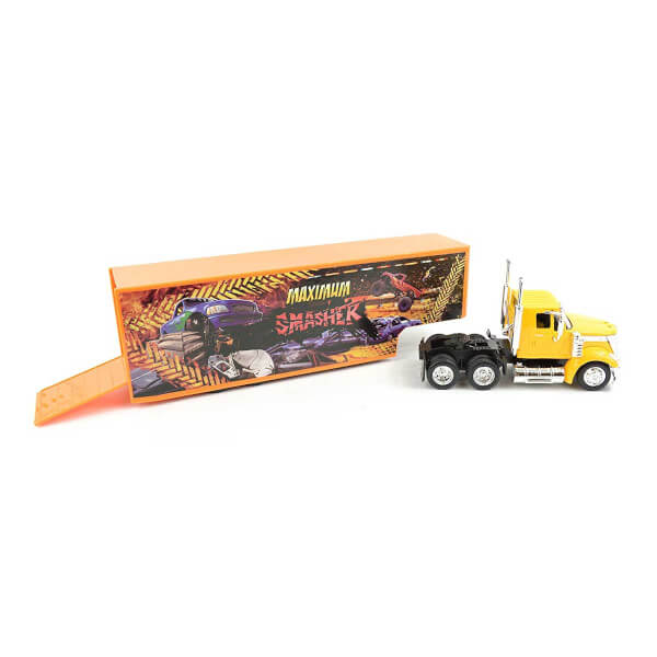 1:43 Long Haul International Lonestar Taşıyıcı Tır