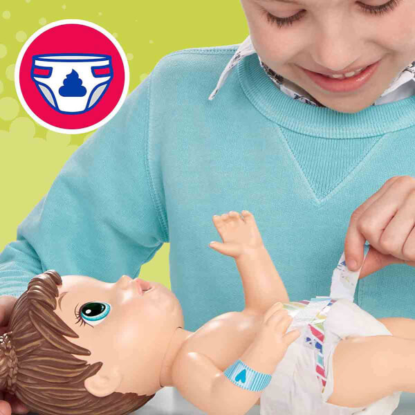 Baby Alive Bebeğim Hasta Oldu Kumral E6942