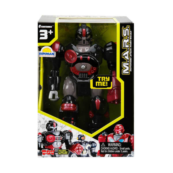 M.A.R.S. Işıklı Yürüyen Robot