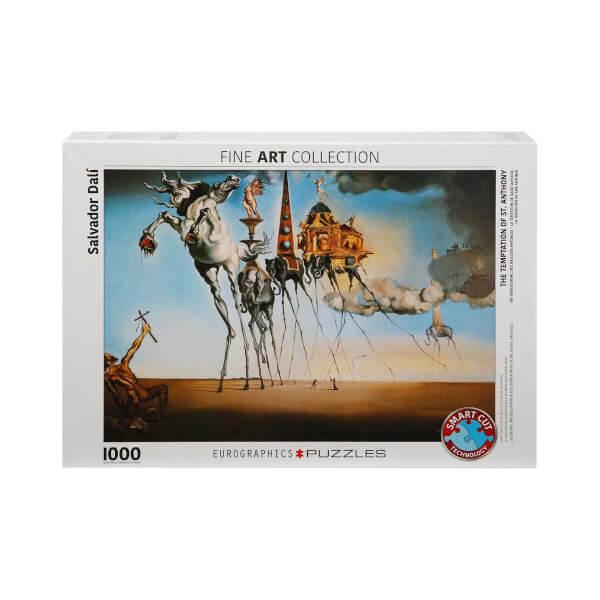1000 Parça Puzzle : The Temptation Of St. Anthony - Salvador Dalí