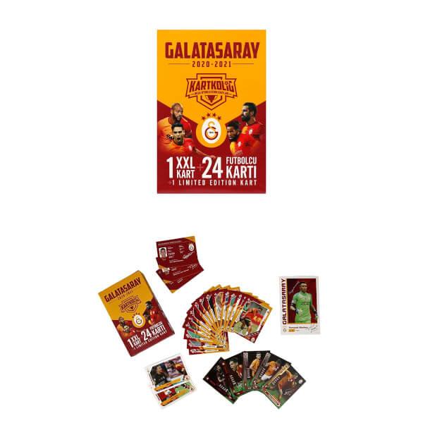 Galatasaray 2020-2021 Sezon İmzalı Oyunlu Futbolcu Kartları