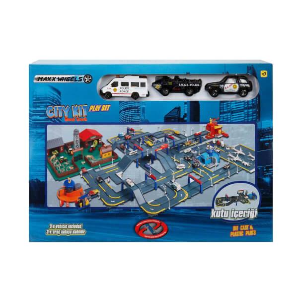 3 Araçlı Şehir Oyun Seti