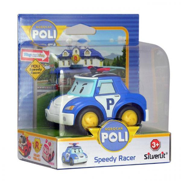 Robocar Poli Hızlı Yarışçı Figür Poli