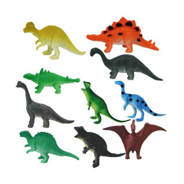 Dinozorların Dünyası Poşetli Hayvan Oyun Seti