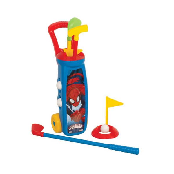 Spiderman Golf Arabası Seti