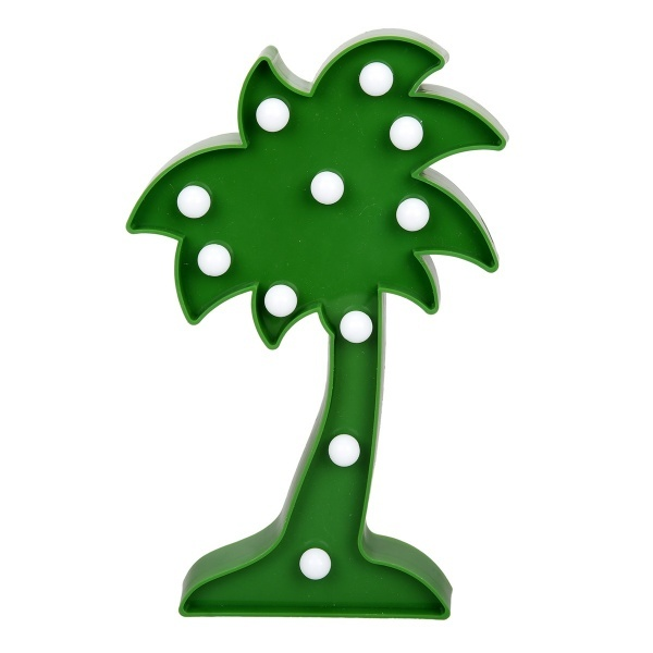 Dekoratif Işıklı Palmiye Ağacı