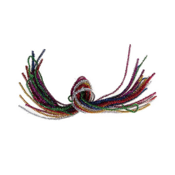 BuBu Simli Şönil 7 Renk 50 cm.