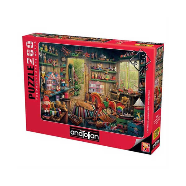 260 Parça Puzzle : Oyuncakçı Barakası