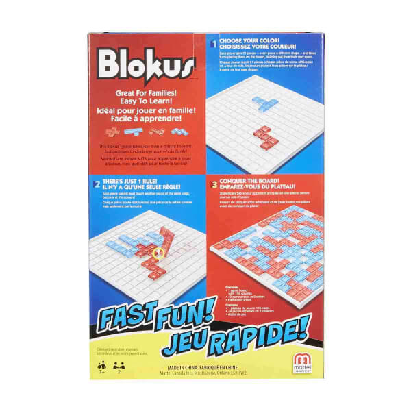 Fast Fun Blokus FMW25