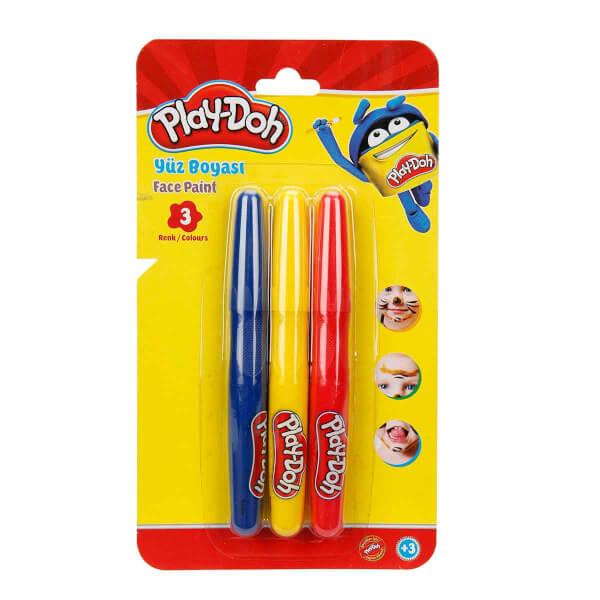 Play Doh Yüz Boyası 3 Renk