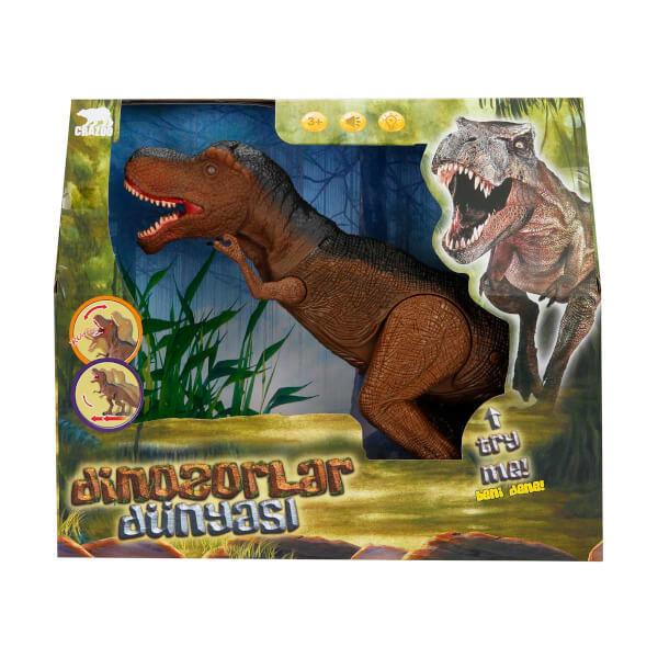 Sesli ve Işıklı Büyük Dinozor