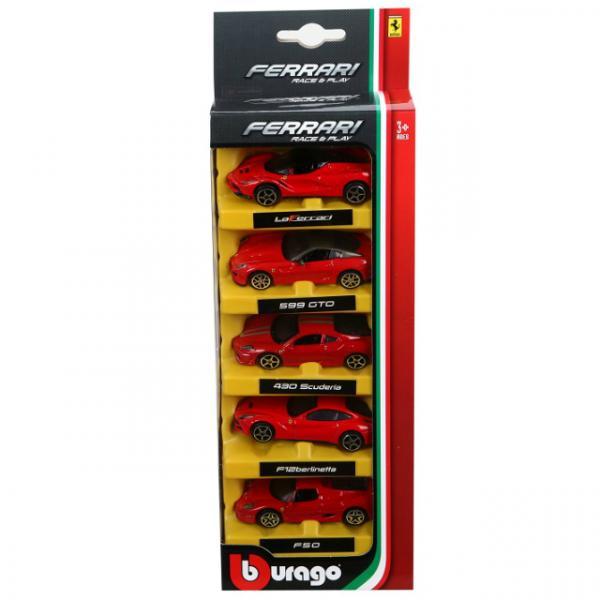 1:64 Ferrari 5'li Arabalar