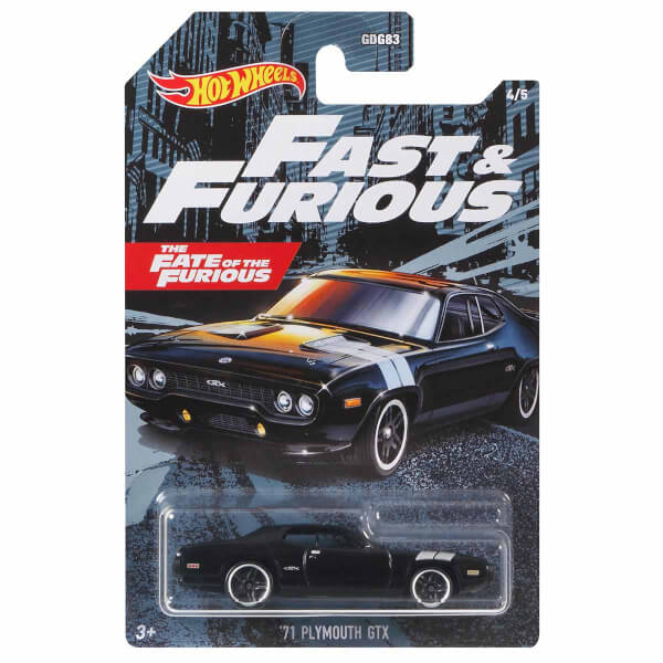 Hot Wheels Fast & Furious Arabalar GYN28