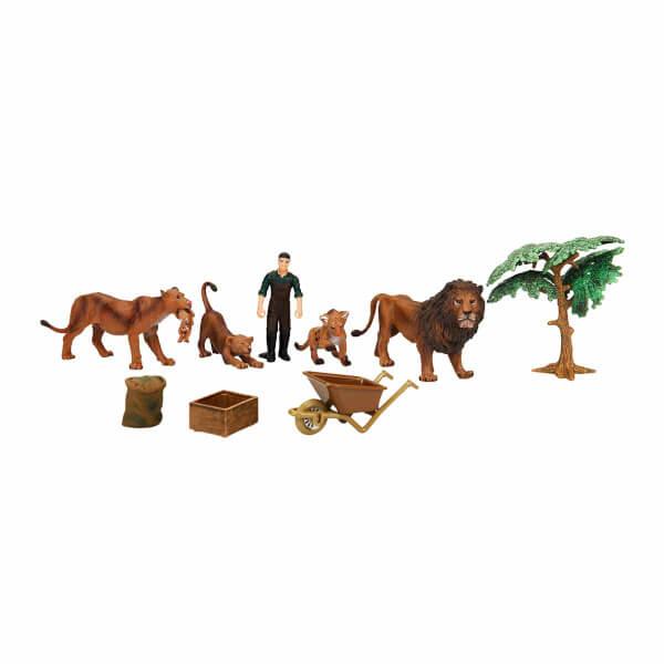 Wild Life Vahşi Hayvanlar Çiftlik Seti