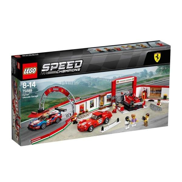 LEGO Speed Champions Muhteşem Ferrari Garajı 75889