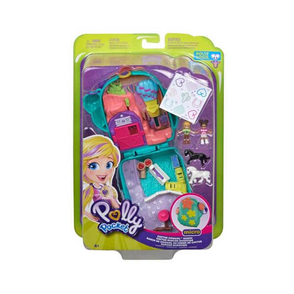 Polly Pocket ve Maceraları Oyun Seti FRY35