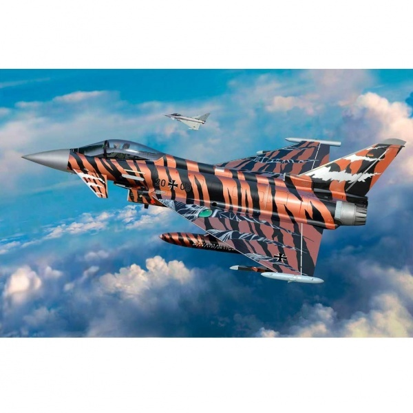 Revell 1:144 Eurofighter Br Tiger Model Set Uçak