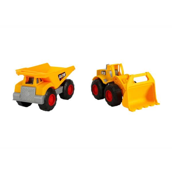 Maxx Wheels 2'li Hafriyat Kamyonu