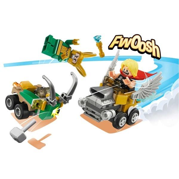 LEGO Marvel Super Heroes Mighty Micros: Thor Loki'ye Karşı 76091