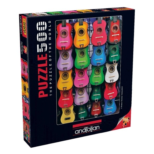500 Parça Puzzle : Müziğin Renkleri