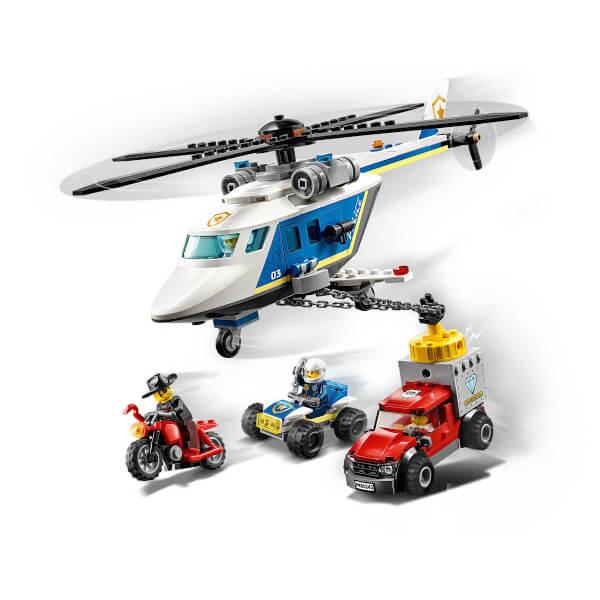 LEGO City Police Polis Helikopteri Takibi 60243