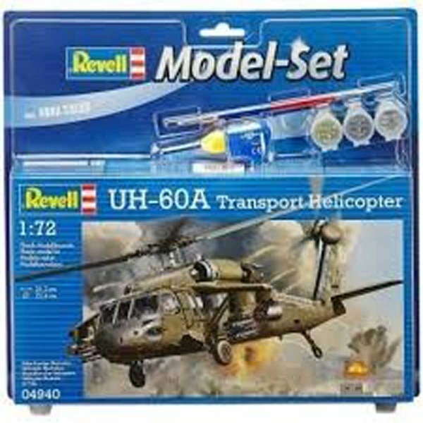 Revell 1:72 UH-60A Trans Model Set Helikopter