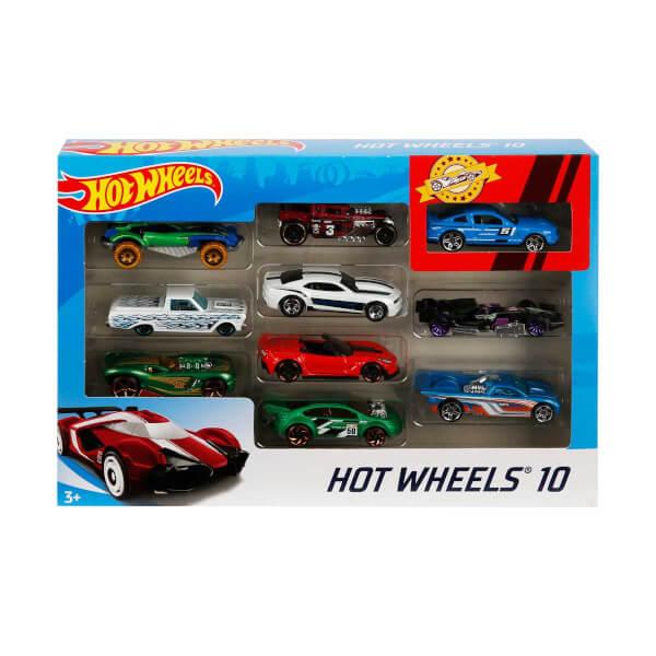 Hot  Wheels 10'lu Araba