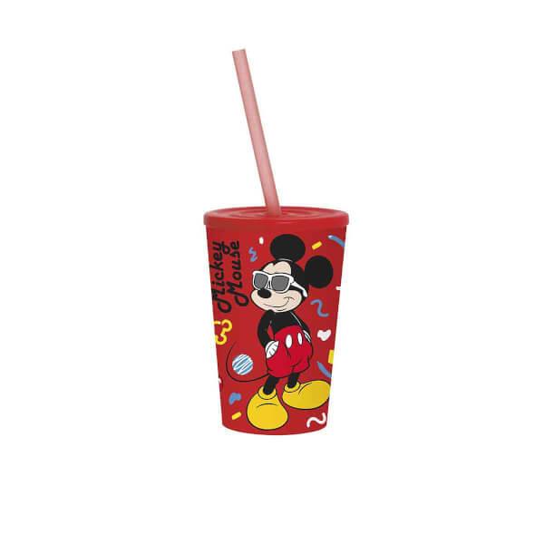 Mickey Mouse Pipetli Bardak 340 ml.