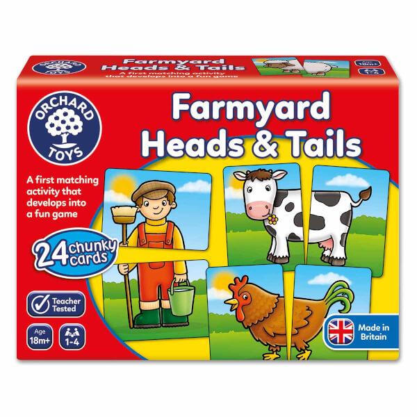 Farmyard Başlar ve Kuyruklar