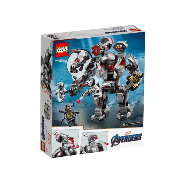 LEGO Marvel Avengers Movie 4 Savaş Makinesi Patlatıcı 76124