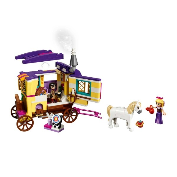 LEGO Disney Tangled Rapunzel'in Seyahat Karavanı 41157