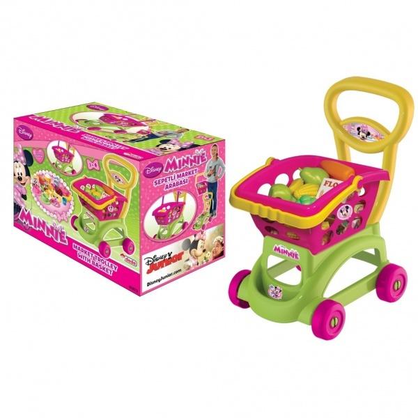 Minnie Sepetli Market Arabası