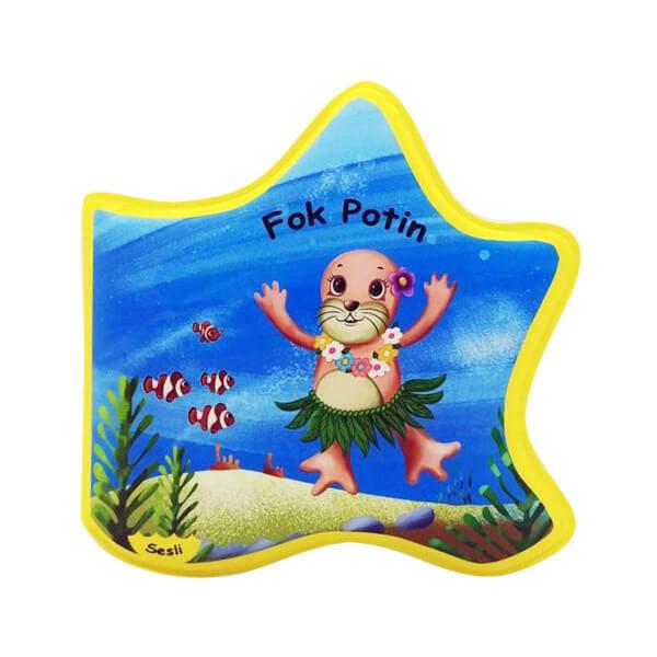 Sesli Fok Potin - Plaj ve Banyo Kitabı