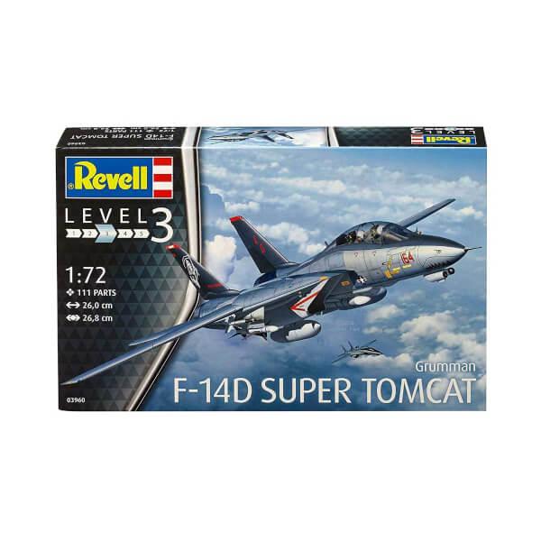 Revell 1:72 F-14D Super Tomcat Uçak 3960
