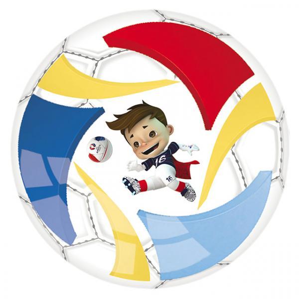 Euro 2016 Pvc Top 14 cm.